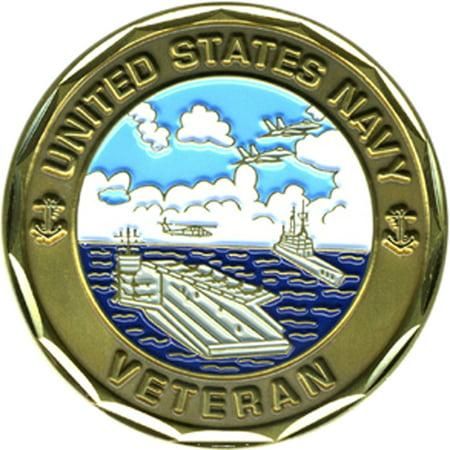 US Navy Proud Veteran Challenge Coin War Veteran Challenge Coin