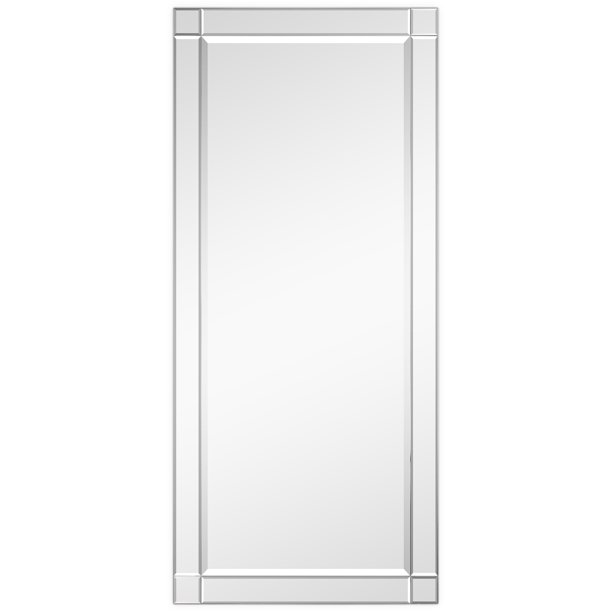 Empire Art Direct Moderno Squared, How To Hang A Large Beveled Mirror