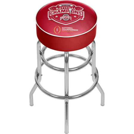 - Ohio State National Champions Chrome Bar Stool with Swivel