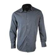 INC International Concepts Men's Metallic Pinstriped Dress Shirt