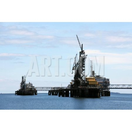 Oil and Gas Industry in the Firth of Forth, Scotland Print Wall Art By Linda (Best Careers In Oil And Gas Industry)