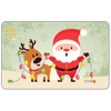 Santa Reindeer Lights Walmart Gift Card