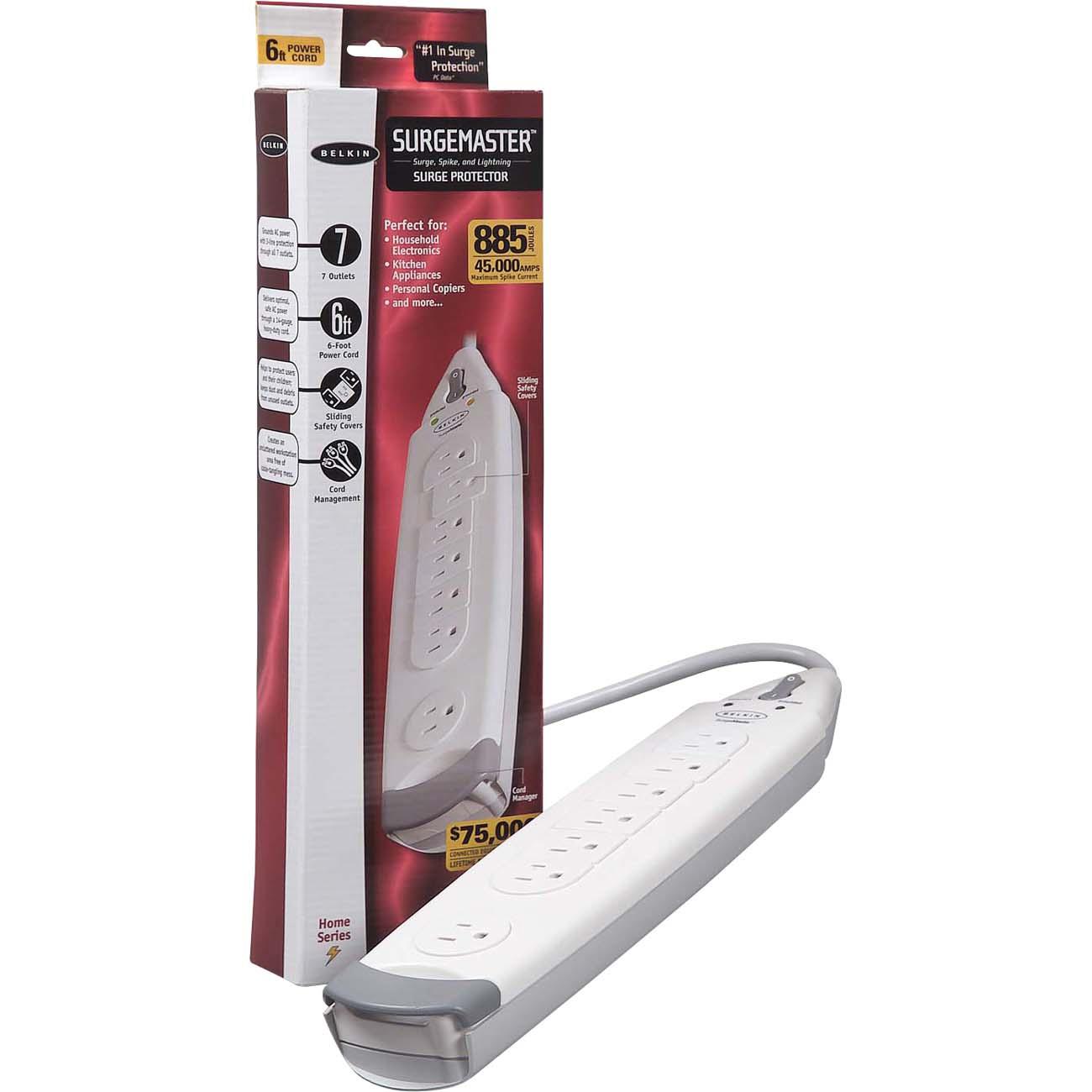 Belkin SurgeMaster Home Series - surge protector