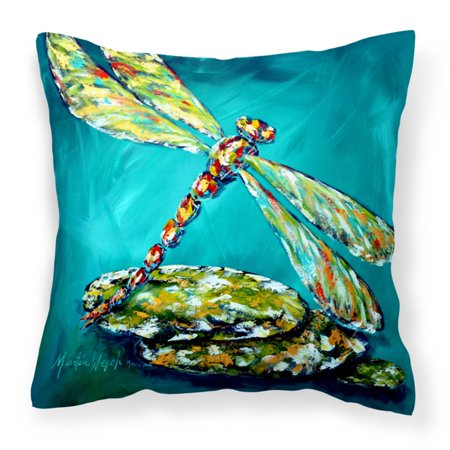 - Caroline's Treasures Dragonfly Matin Insect Decorative Outdoor Pillow