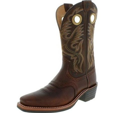 5296ed31951 Ariat Men's Heritage Rough Stock Cowboy Boot Square Toe - 10002227