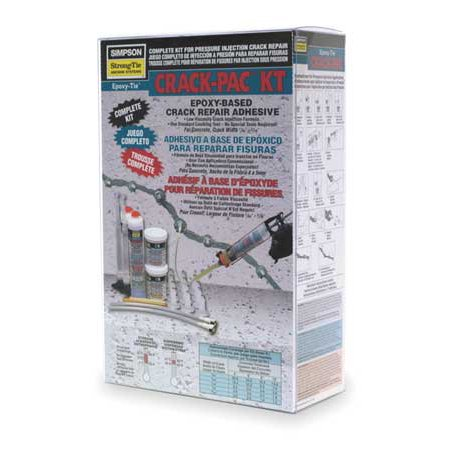STRONG-TIE Crack Injection Repair Kit,18 oz.,Box (Direct Induction Kits)
