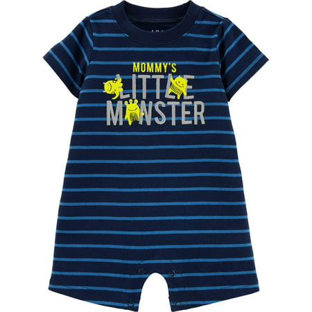 Short Sleeve One Piece Romper (Baby Boys)