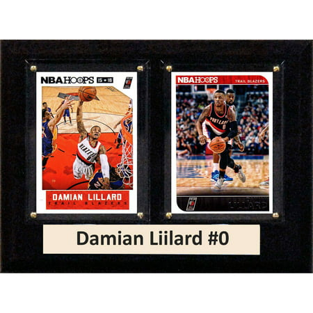 Portland Trailblazers Key (C&I Collectables NBA 6x8 Damian Lillard Portland Trailblazers 2-Card)