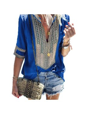 3caf6ffa9 Product Image Womens Loose Pleated Lace Tunic Dresses Casual Long Tank Tops  Deep V-neck Sleeveless Beach