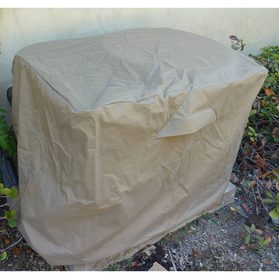 """Formosa Covers Extra large rectangular Air Conditioner Cover 38""""x36""""x38""""H - All Weather"""