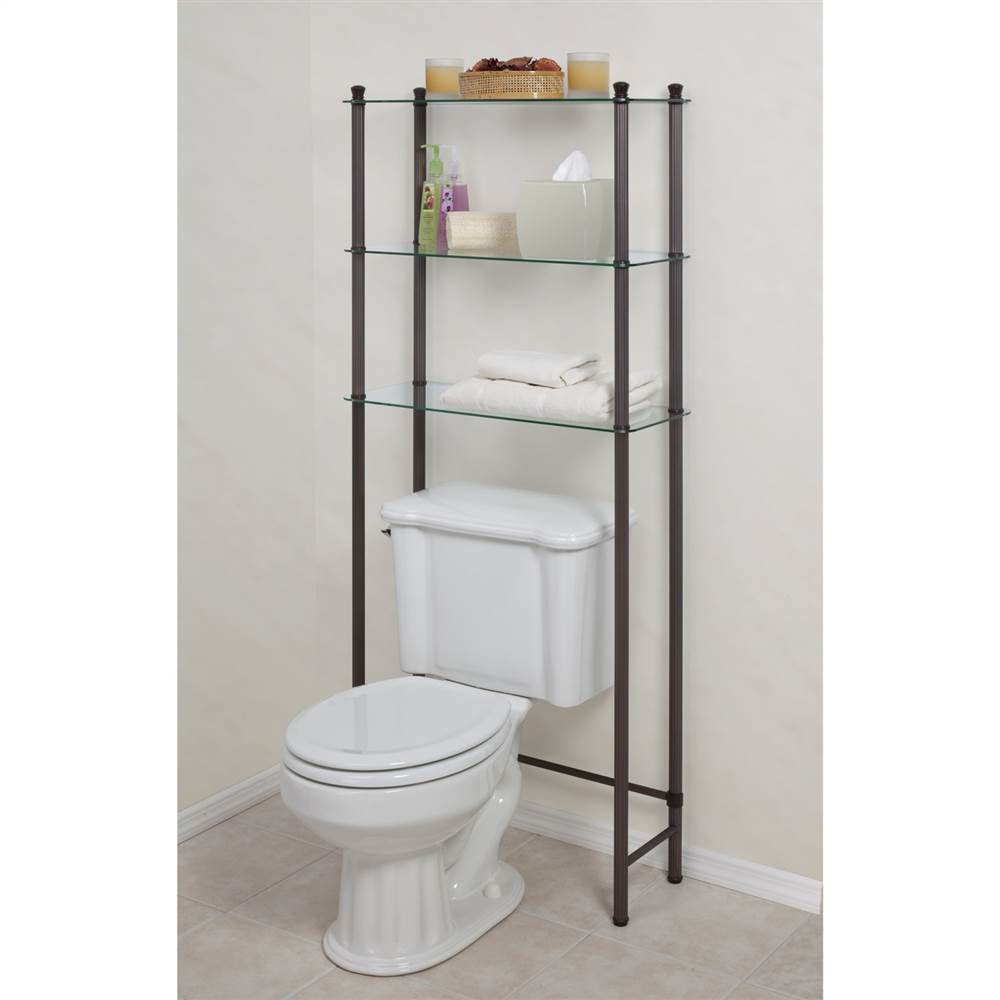 3 Shelf Oil Rubbed Bronze Space Saver L'Etagere