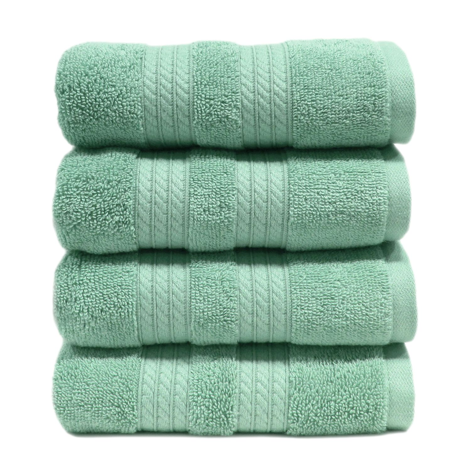 "100% Cotton Luxury Hand Towel, 16"" x 30"" - Light Blue"