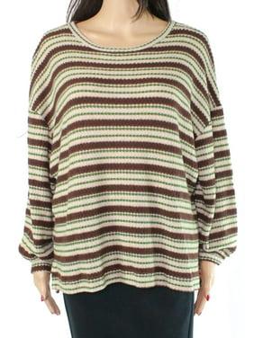 M Quirky Vintage Pop Lollipop Coloured Cotton Mix Knit Sweater Pullover XXS