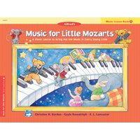 Music for Little Mozarts Music Lesson Book, Bk 1: A Piano Course to Bring Out the Music in Every Young Child (Paperback)
