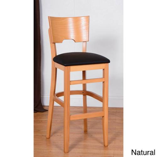 Beechwood Mountain LLC Card Beechwood Bar Stool by Overstock