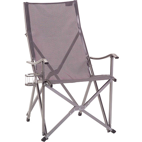 Coleman Patio Sling Chair, Grey