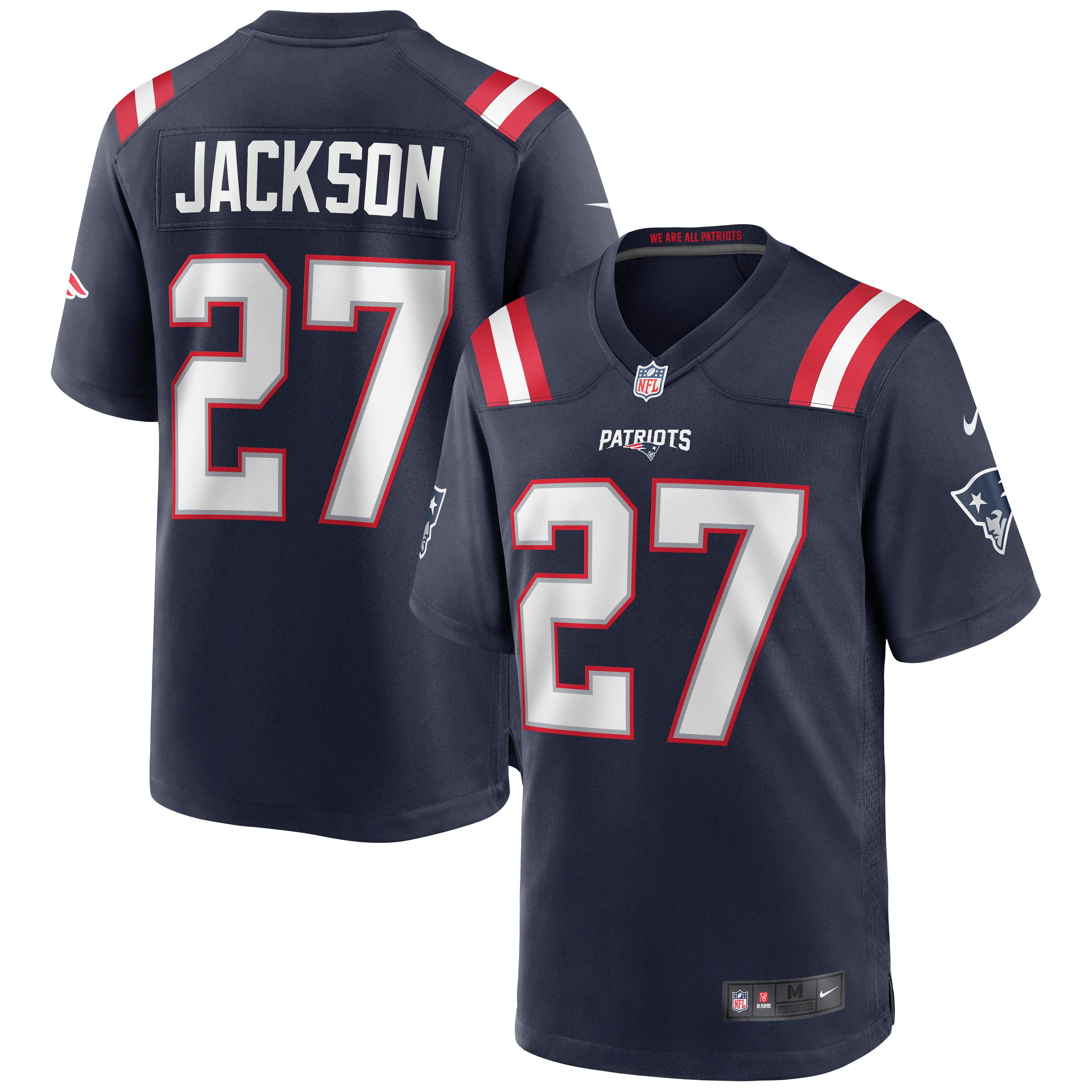 J.C. Jackson New England Patriots Nike Game Jersey - Navy - Walmart.com