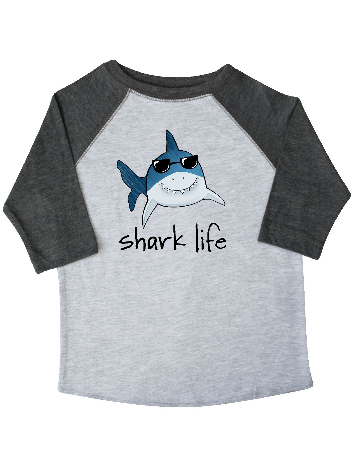 Shark Life Fun Shark With Sunglasses Toddler T-Shirt