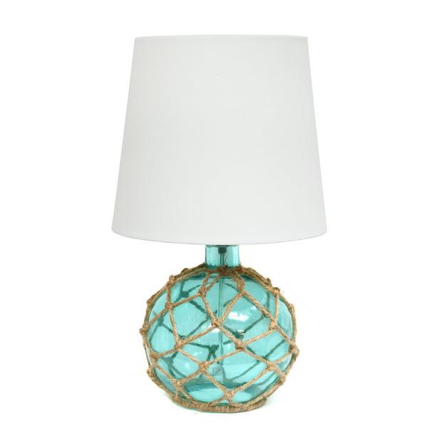Elegant Designs Buoy Rope Nautical, Ocean Themed Lamps