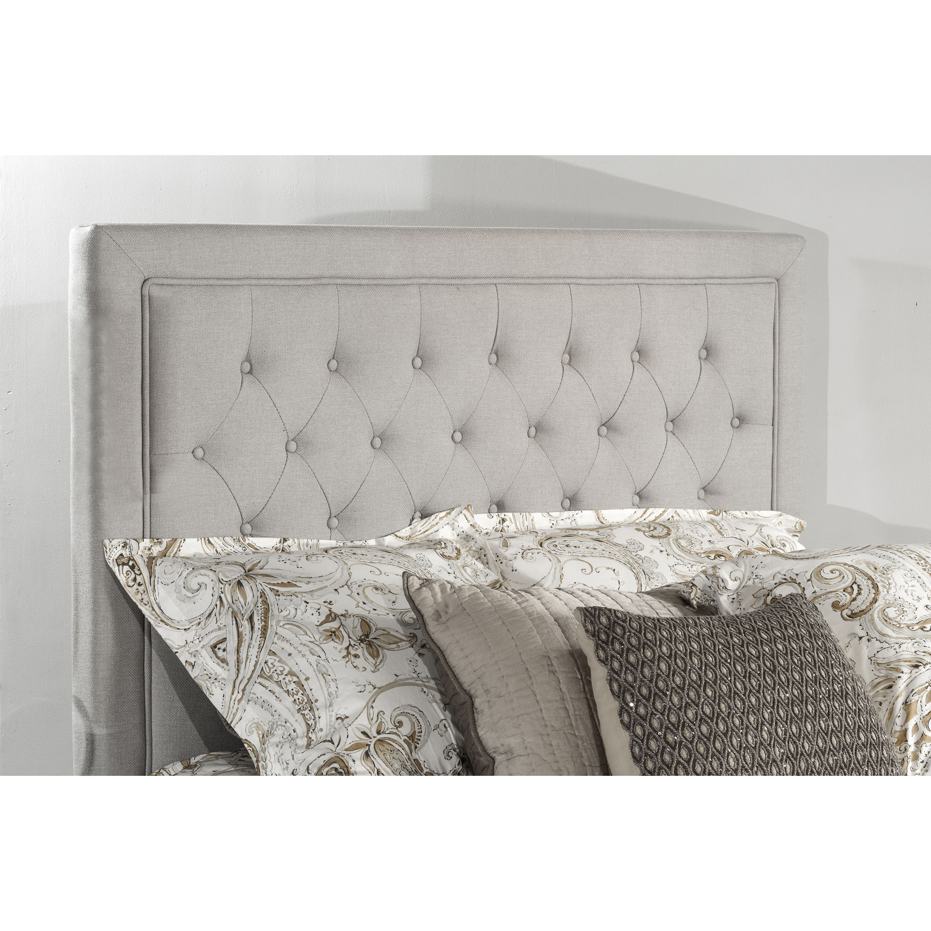 Hillsdale Furniture Kaylie Headboard with Metal Frame, Multiple Sizes