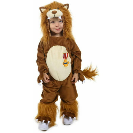 The Wizard of Oz Cowardly Lion Toddler Halloween Costume](Wizard Toddler Costume)