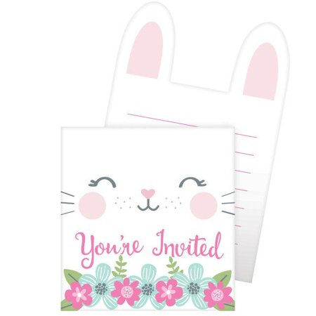 Creative Converting Birthday Bunny Invitation Pop-Up, You're Invited, 8 ct](Creative Halloween Party Invites)