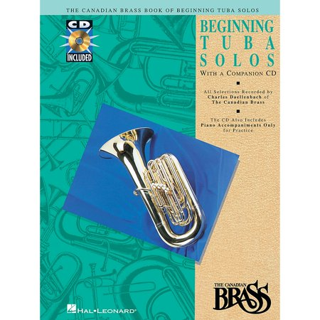 Hal Leonard Canadian Brass Book of Beginning Tuba Solos Brass Series Softcover with CD Composed by -