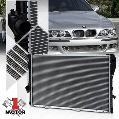 Bmw Radiator Support (Aluminum Core Radiator OE Replacement for 95-98 BMW 528i/540i/740i/750iL 1401 95 96 97 98)