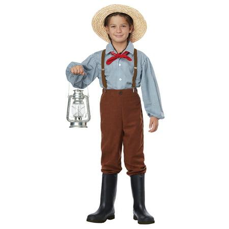 Pioneer Boy Child Costume - Pioneer Costumes
