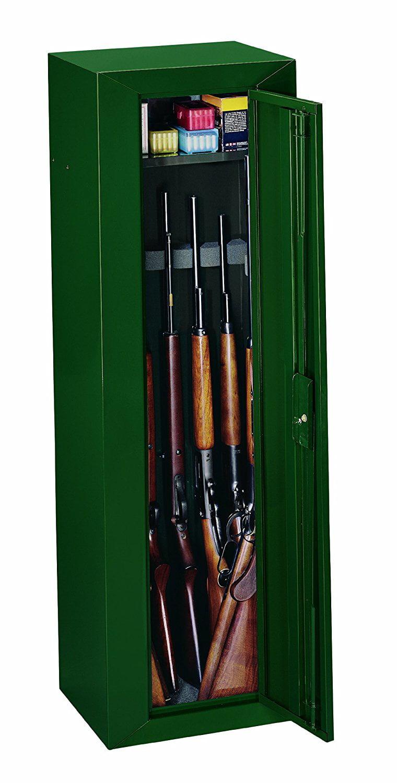Stack On Gcg 910 Steel 10 Gun Security Cabinet Green Walmart