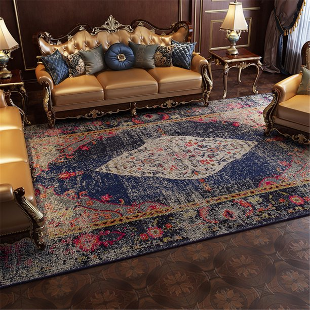 American Country Style Carpet Non Slip Door Mat Modern Accent Floor Rugs For Entryway Romantic Cotton Rugs Home Decor Collection Rug Walmart Com Walmart Com