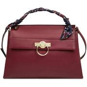 Nine West Desarae Women's Scarf-Detailed Top Handle Satchel Bag