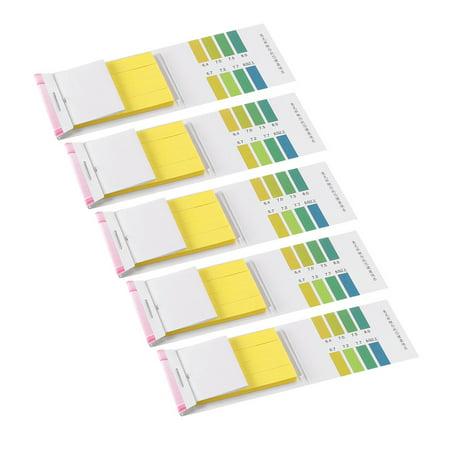 PH Test Strips 6.4-8.0 Indicator Paper Lab Litmus Tester 80in1 Kit Water Food Pool Aquarium Testing Alkaline Acid (Ph Indicator Lab)