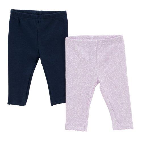 Child of Mine Layette Legging Pant, Girl, 2-Pack
