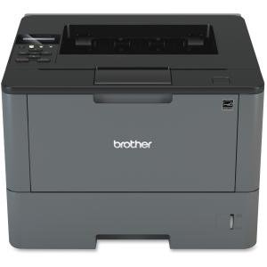 Brother HL-L5200DW Laser Printer - Monochrome - 1200 x 1200 dpi Print - Plain Paper Print - Desktop - 42 ppm Mono Print - A5, Legal, Letter, A4, Executive, A6, Custom Size - 300 sheets Standard I