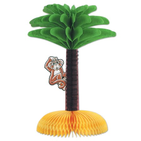 Club Pack of 12 Hawaiian Luau Honeycomb Centerpiece Party Decorations 13