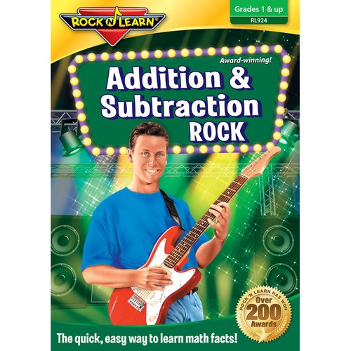 Rock N Learn Addition Subtraction Rock CD