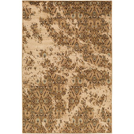 Traditional Paramount Collection Area Rug In Brown Neutral
