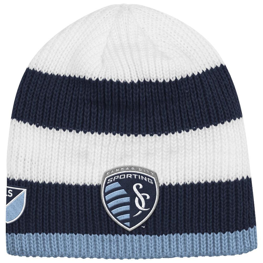 Sporting Kansas City Adidas MLS Authentic Draft Cuffless Knit Hat by Adidas
