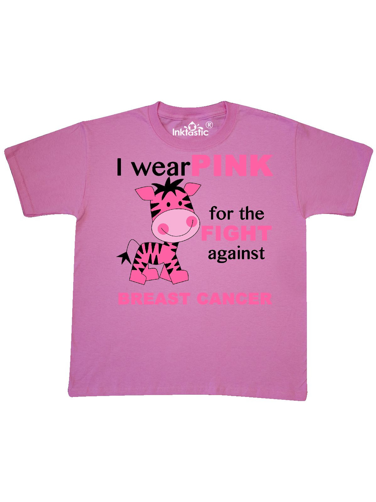 I wear PINK for the fight against Breast Cancer Youth T-Shirt