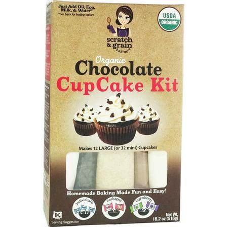 Organic Chocolate CupCake & Cake Kit, 18.2oz