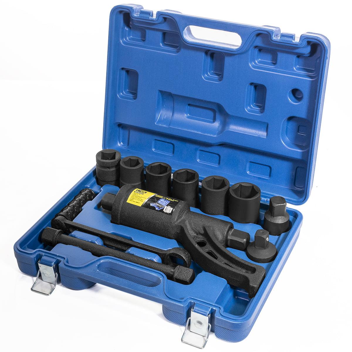 Semi truck lug wrench pergola canopy kit