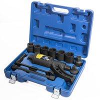 XtremepowerUS Torque Wrench Labor Saving Lug Nut Torque Multiplier w/ Cr-v Socket 8pc Socket Set + Case