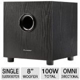Pioneer Sw 8Mk2 100W Powered Andrew Jones Subwoofer