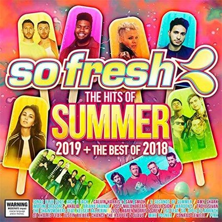 So Fresh: The Hits Of Summer 2019 & The Best Of 2018 / Various (Best Luau In Honolulu 2019)