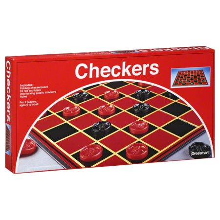 Checkers Set (Best Board Games For 10 12 Year Olds)