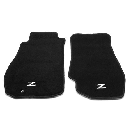 NRG Innovations FMR -350 For 2003 to 2009 Nissan 350Z Front Floor Mats Pads Carpet (Left+Right) 04 05 06 07 08
