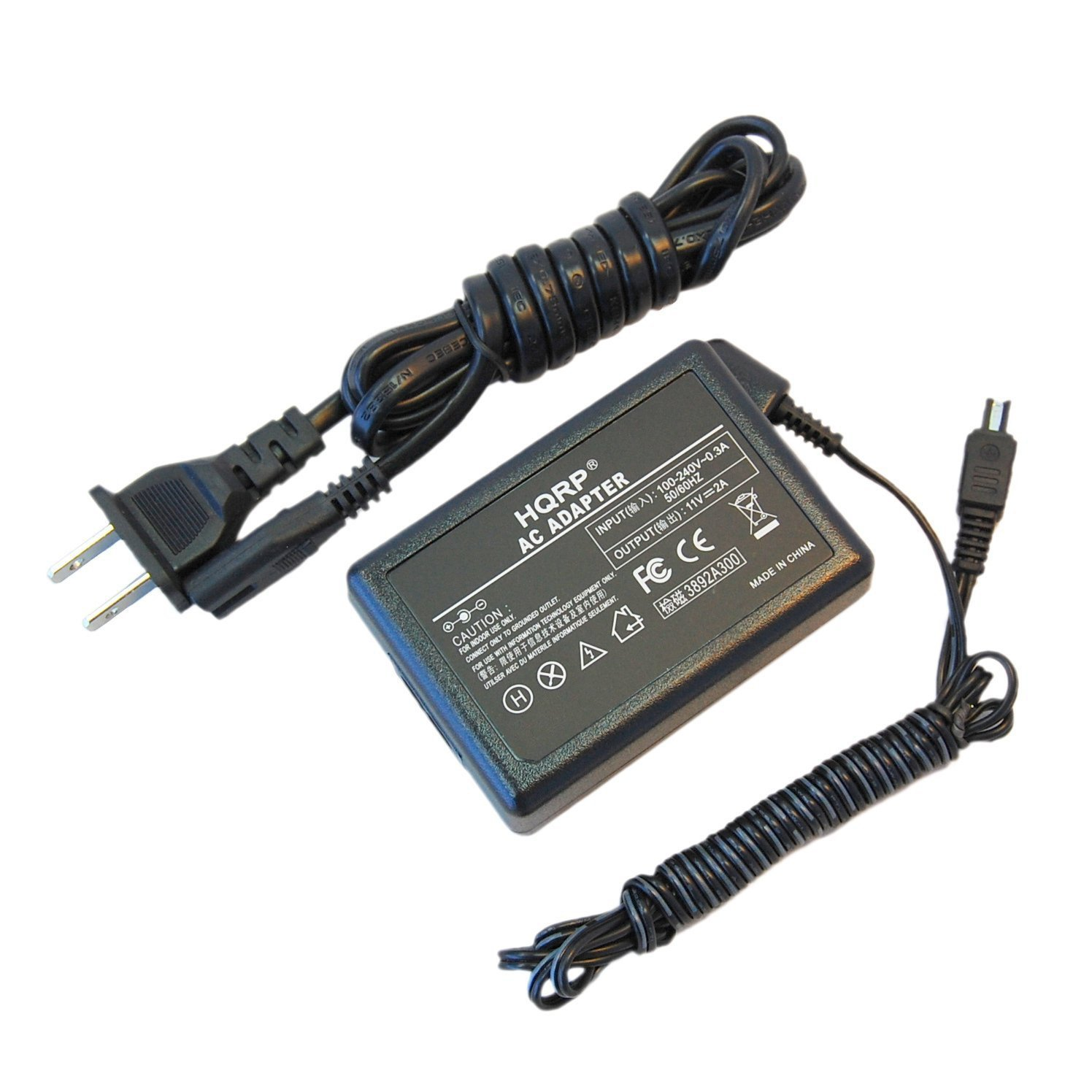 hqrp replacement ac adapter power supply for jvc everio gz mg130 rh walmart com
