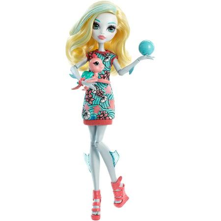 Monster High Ghoul S Beast Pet Lagoona Blue Doll - Christmas Barbie