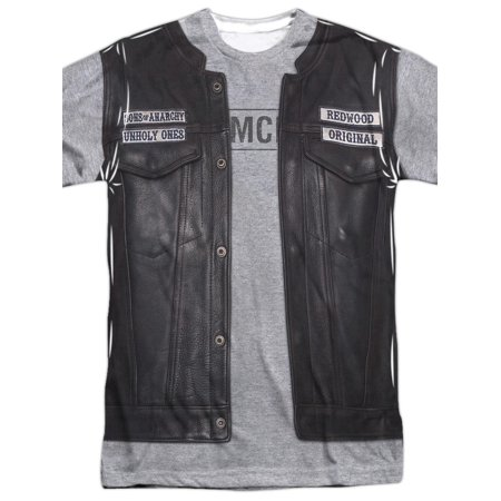 Sons Of Anarchy Unholy Costume (Front Back Print) Mens Sublimation Shirt